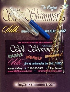 Silk ShimmerZ Sample Packs Available in all 21 colors. Complete with Pick and instructions