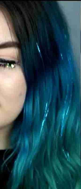 Blue on Blue....Beautiful Silk ShimmerZ